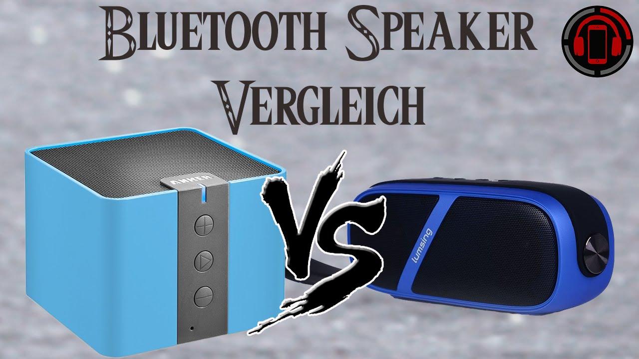 Bluetooth Speaker Vergleich