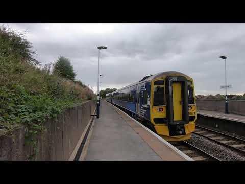 Retford Railway Station, Retford, Nottinghamshire, England - 20 August, 2019
