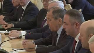 С.Лавров и Ф.Ариас Гонсалес, Москва, 2 апреля 2019 года