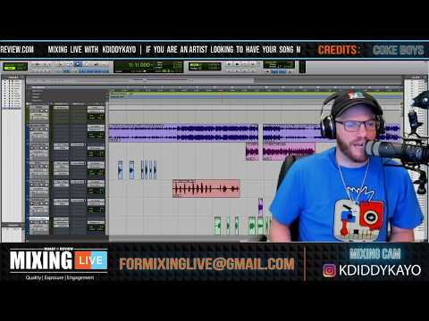 Pro tools 101 on how to clean up vocals (Mixing Rap Vocals 2019) Mixing Live