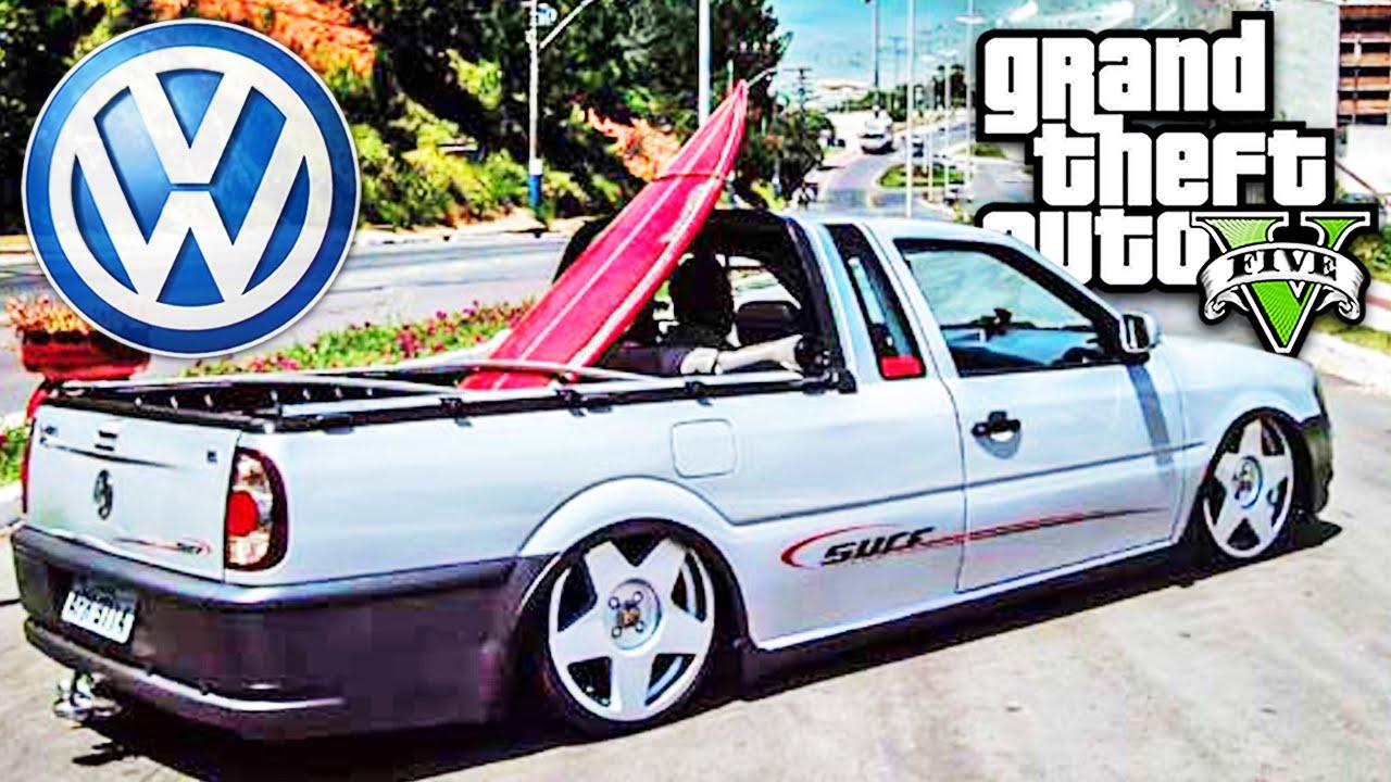 Gta 5 Carros Saveiro Rebaixada E Som Automotivo