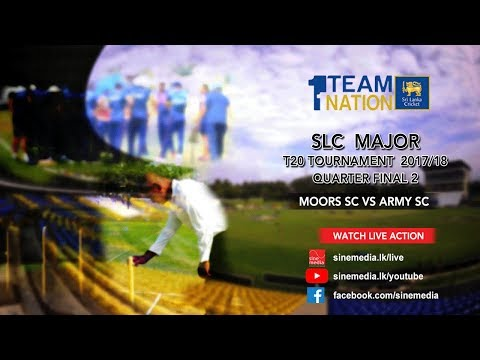 Moors SC vs Army SC - SLC Major T20 Tournament Q/F