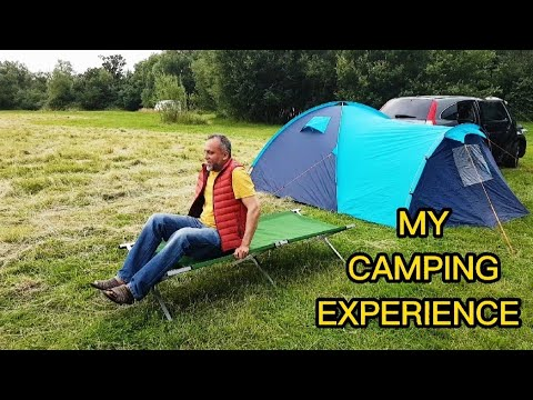 MY CAMPING EXPERIENCE
