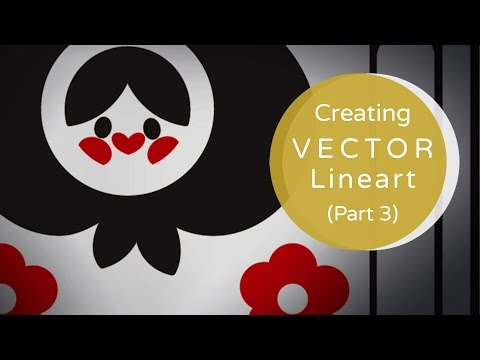 Creating Vector Lineart Part 3: Demo | Illustrator Tutorial