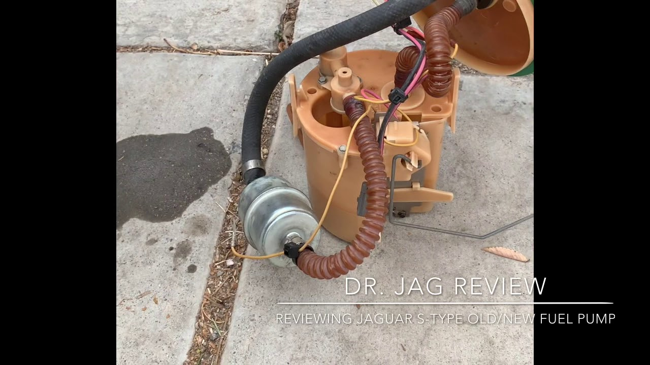 How to replace a Fuel pump on a Jaguar s-type 2000