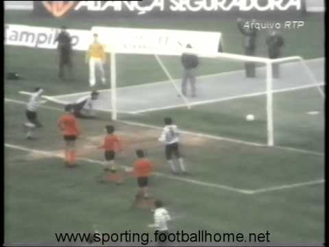 20J :: Sporting - 1 x Penafiel - 0 de 1980/1981