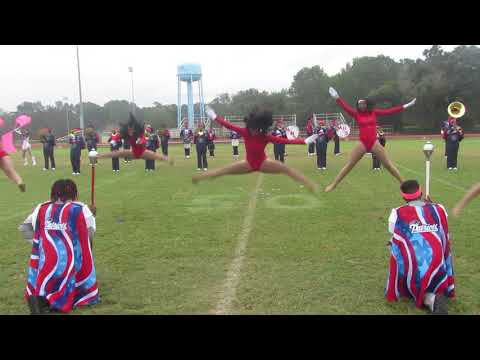 Midfield High School Marching Band Field Show At Selma's Battle Of The Bands Competition | 2019 |