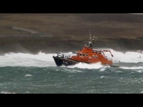 Kirkwall Lifeboat Crew Training