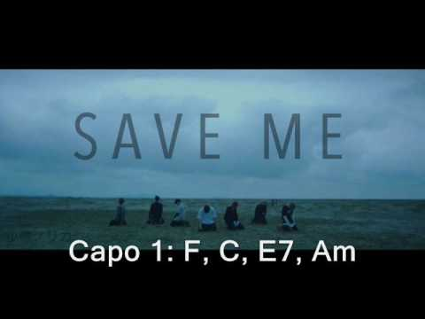 BTS [방탄소년단] - Save Me Guitar & Vocal Cover