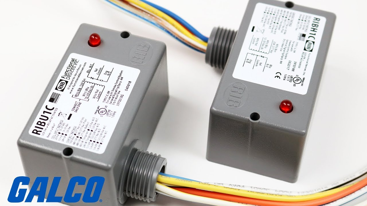 hight resolution of functional devices relay in a box ribu1c and ribh1c series relays