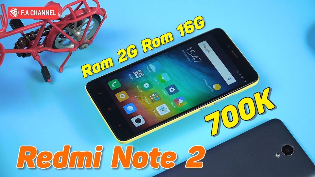 Trải Nghiệm Redmi Note 2 Giá 700K – Helio X10, Ram 2G/16G 5 Năm Hiệu Năng Chiến Game Vẫn Ngon!