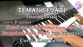 Download TEMAN SEJATI - Imam ghozali - Karaoke Qasidah Korg Pa300