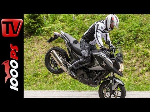 Honda NC750X 2014- Test | 5 Meinungen - 1 Bike | Stunts, Action, Sound