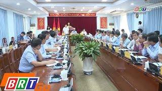 Đoàn công tác tỉnh BR-VT làm việc với tỉnh Đồng Nai về dự án đường cao tốc Biên Hòa - Vũng Tàu
