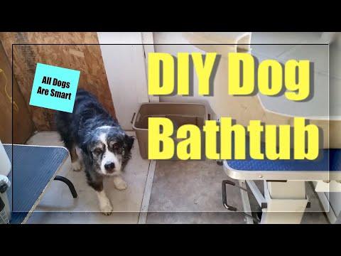 diy-dog-bathtub