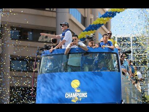Mic'd Up: Warriors Championship Parade