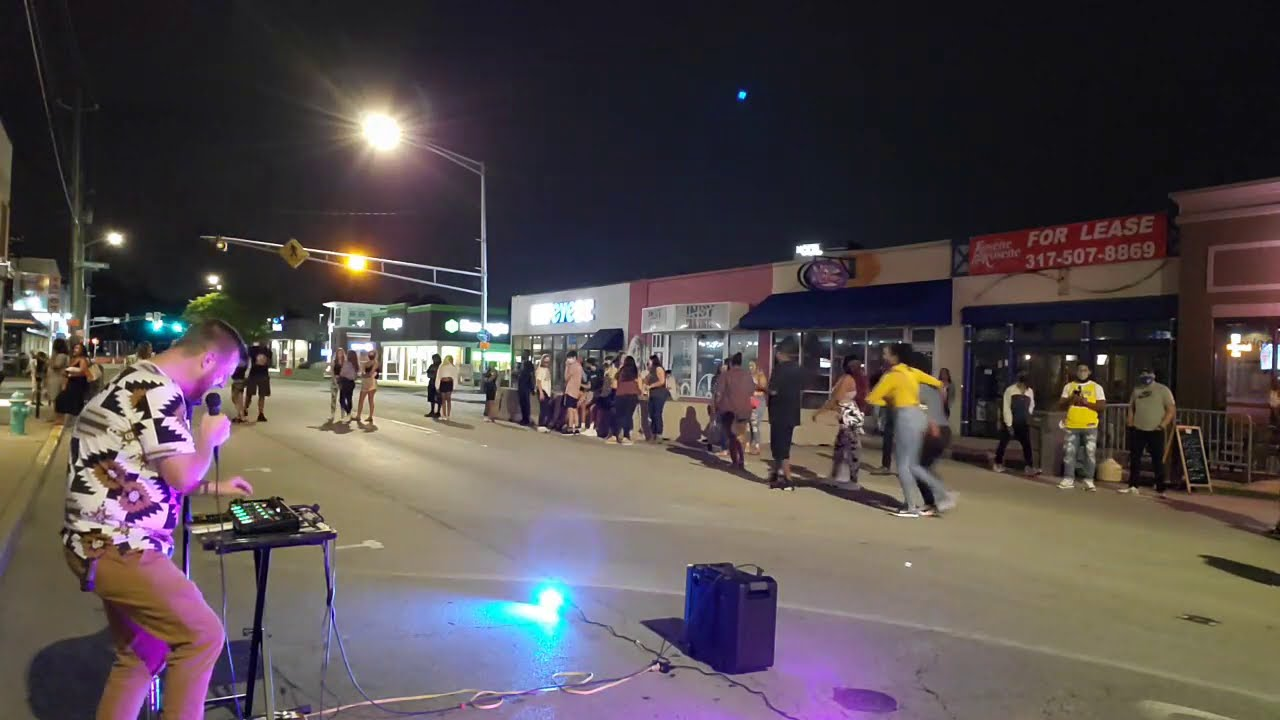 IRL Street Concert 4 Indianapolis 🔴  Burger Planet Twitch IRL LIVE Stream Uploads