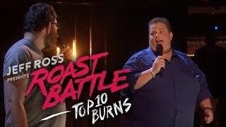 Roast Battle's Top 10 Buŗns - Uncensored