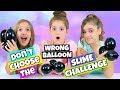 Don't Choose The Wrong Balloon Slime Challenge!