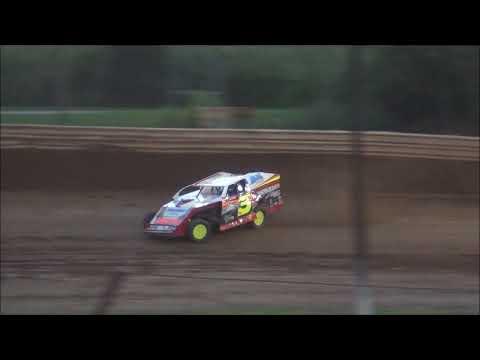 Legendary Hilltop Speedway Brock Moskey Heat Race 8-18-17
