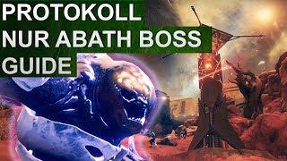 Destiny 2: Eskalationsprotokoll Boss Guide: NUR ABATH, Signum des Xol (Deutsch/German)