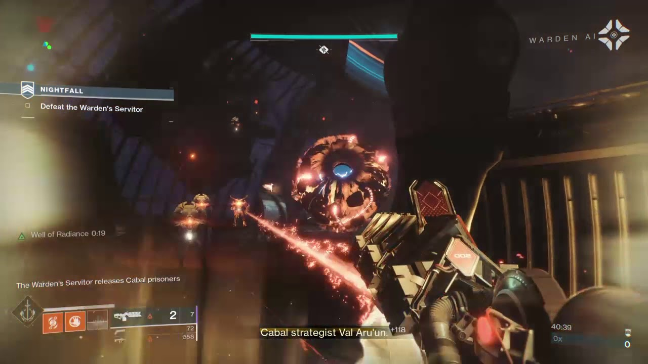 Forsaken Nightfall Strike : Prison of Elders Easy Boss Kill