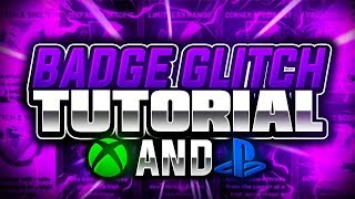 BADGE GLITCH FULL TUTORIAL FOR XBOX AND PS4 - NBA 2K19
