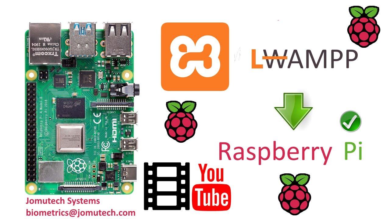 How To Install The Xampp Lampp Stack In Raspberry Pi 4b That Runs On Raspbian Os Youtube