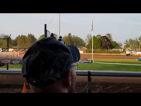 Tony Stewart All Star Circuit Heat Race Plymouth Dirt Track