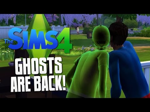The Sims 4 - GHOSTS ARE BACK - The Sims 4 Funny Moments #14