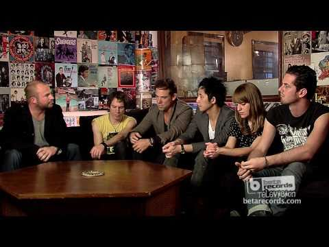 The Airborne Toxic Event Interview on BETA TV