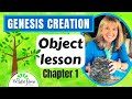 GENESIS CREATION (chapter 1) object lesson for Children (WRIGHT IDEAS WITH SUSAN)