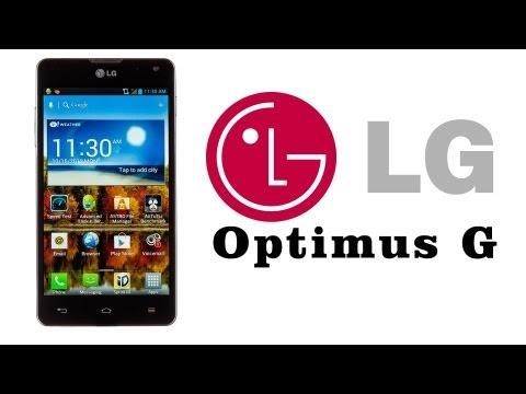 LG Optimus G E975 prezentacja [1/3]