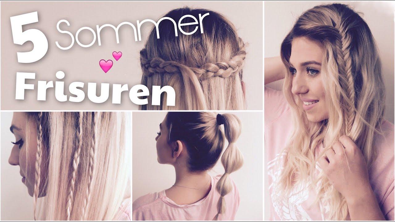 5 Perfekte Sommer Frisuren Schnell Einfach Bibisbeautypalace