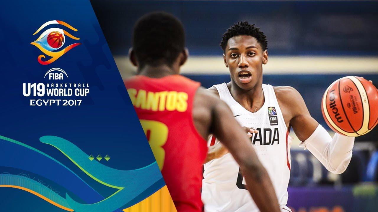 Canada v Angola - Full Game - Round of 16 - FIBA U19 Basketball World Cup 2017