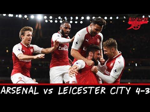 Arsenal vs Leicester City 4-3 MATCH HIGHLIGHTS (EDIT)