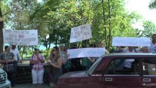 Жители Выпасного протестуют