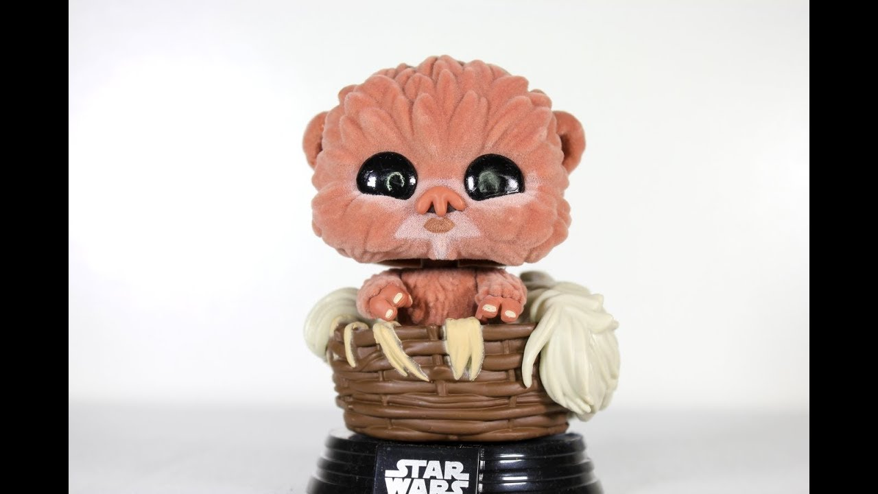 Baby Nippet Flocked Exclusive Pop Funko Vinyl Star Wars