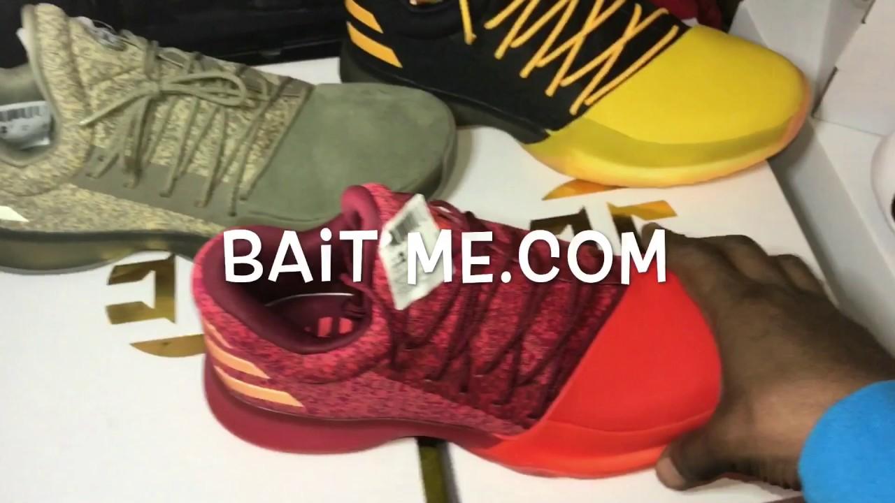 c0f38dd118ec Adidas James Harden Vol1 Red Glare (Primeknit (On feet  action Review)140usd