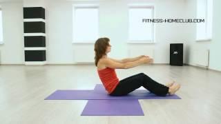 Комплекс упражнений для хорошего самочувствия с Мариной Быковой. Урок 1.