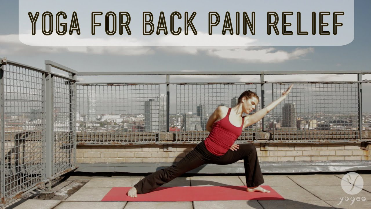 Lower back pain relief Yoga Routine: Spinal Tonic ...