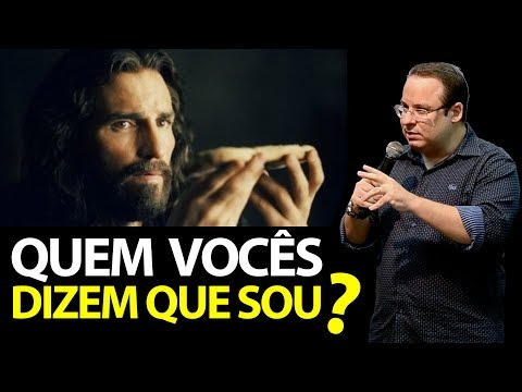 Jesus pergunta: Quem vocês dizem que eu sou? Tu és o Cristo! Felipe Seabra