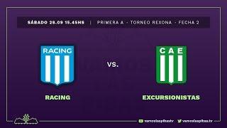 Racing 3 - 3 Excursionistas | #VamosLasPibas | Fútbol femenino