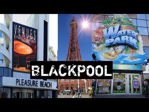 Blackpool Pleasure Beach   Blackpool Tower   Sandcastle Water Park