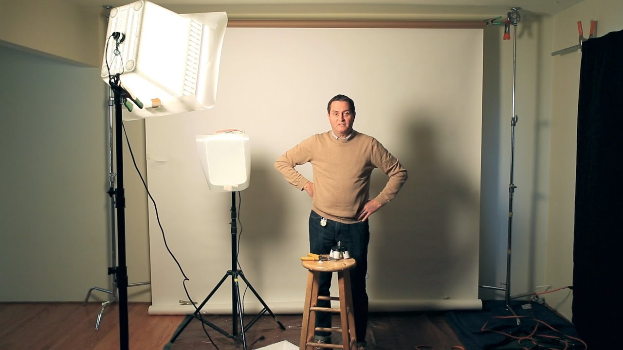 6 Tips For Setting Up A Home Or Office Studio   Photography U0026 Lighting  Tutorial   YouTube