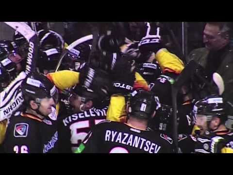 Kazionov sets new KHL match duration record / Победный гол Казионова