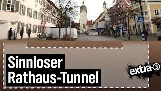 Realer Irrsinn: Erdinger Tunnelbau | extra 3 | NDR
