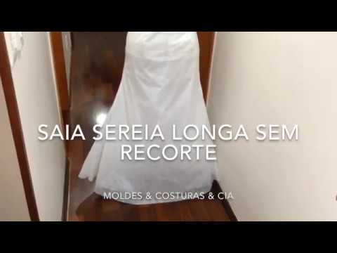 8f2cc5180e SAIA SEREIA LONGA S RECORTE (super fácil) DICAS DA ABERTURA DA CALÇA ...