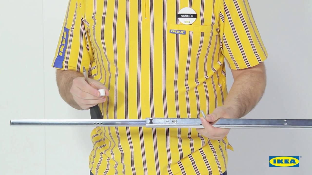 Decoração Aparador Atras Do Sofa ~ Instrucciones Montaje IKEA Perchero Pantalonero para Armario PAX YouTube