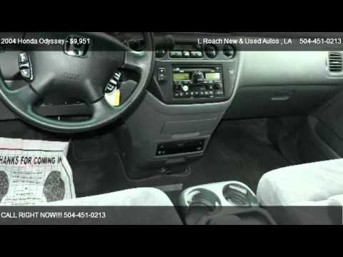 2004 Honda Odyssey EX RES With DVD Rear Entertainment System   For Sale In  Metairie, LA 70003